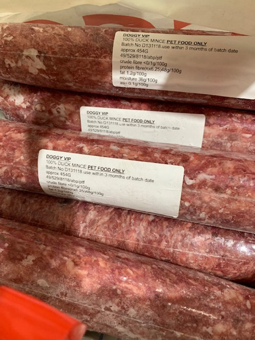Lamb Mince to inc 15% bone Doggyvip 454g