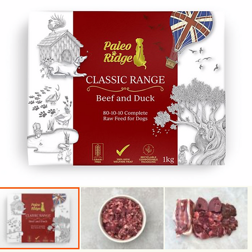 Paleo Ridge Classic Beef and Duck