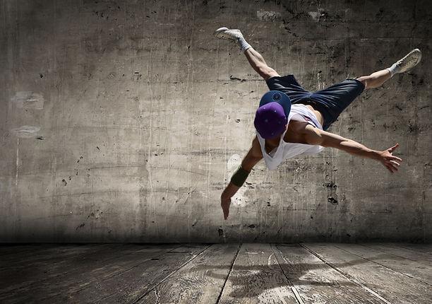 přestávka tanečnice