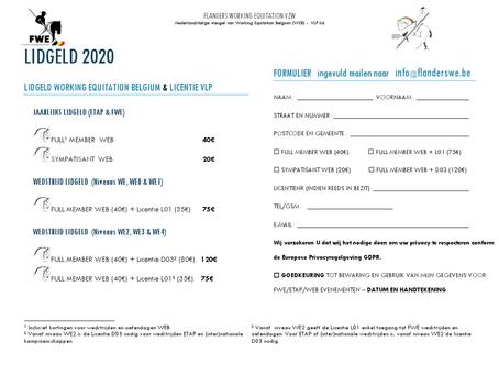LIDGELD 2020 onderstaande link printen invullen en graag terug mailen naar : info@flanderswe.be