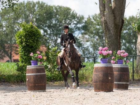 Virginie Dubus amène ses 3 chevaux sur le podium au Championnat des Pays-Bas d'Equitation de Travail