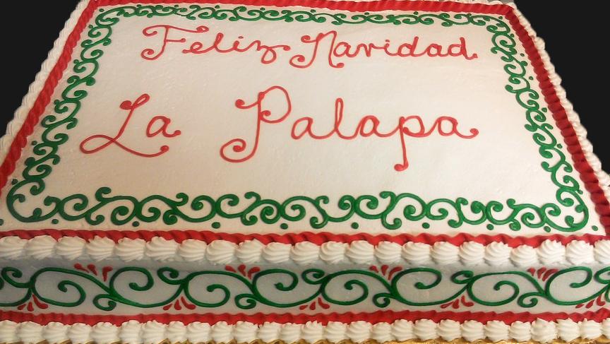 Feliz navidad cake