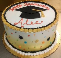 Graduation Cap IV Cake