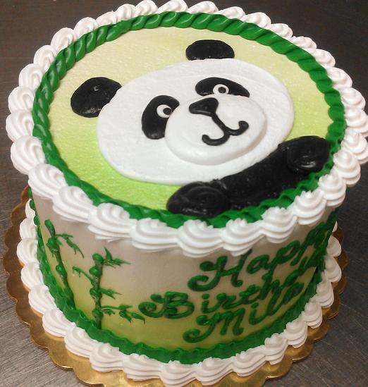 Girl Panda Cake