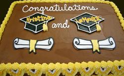 Graduation Dbl Cap and Scroll II