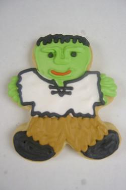 Halloween Frankenstein Royal Iced
