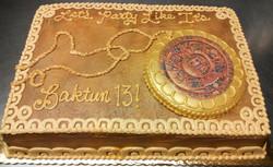 Adult Myan Theme Cake