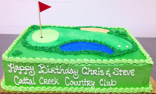 Adult Male Country Club Cake