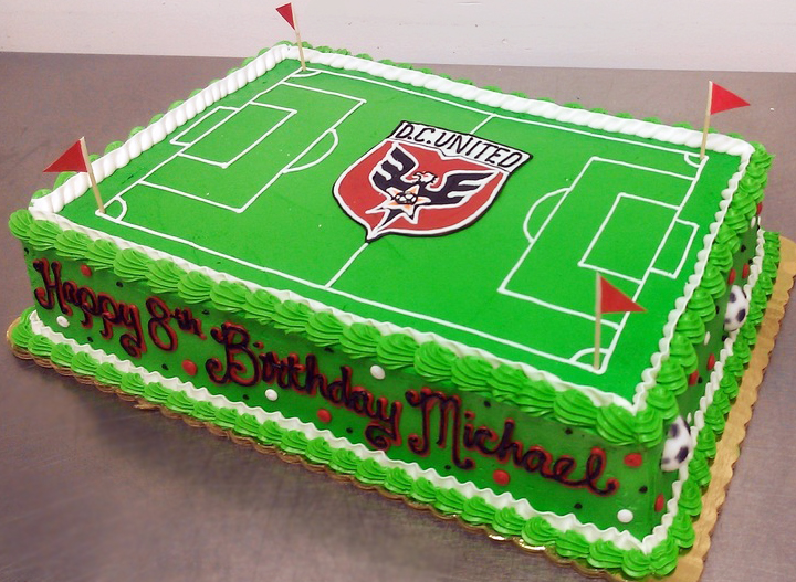 Boy Sports Field II Cake