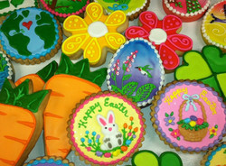 Easter & Spring Royal Iced Cookies