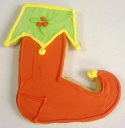 Holiday Stocking Royal Iced Cookies