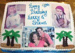 Custom Photo VII Cake
