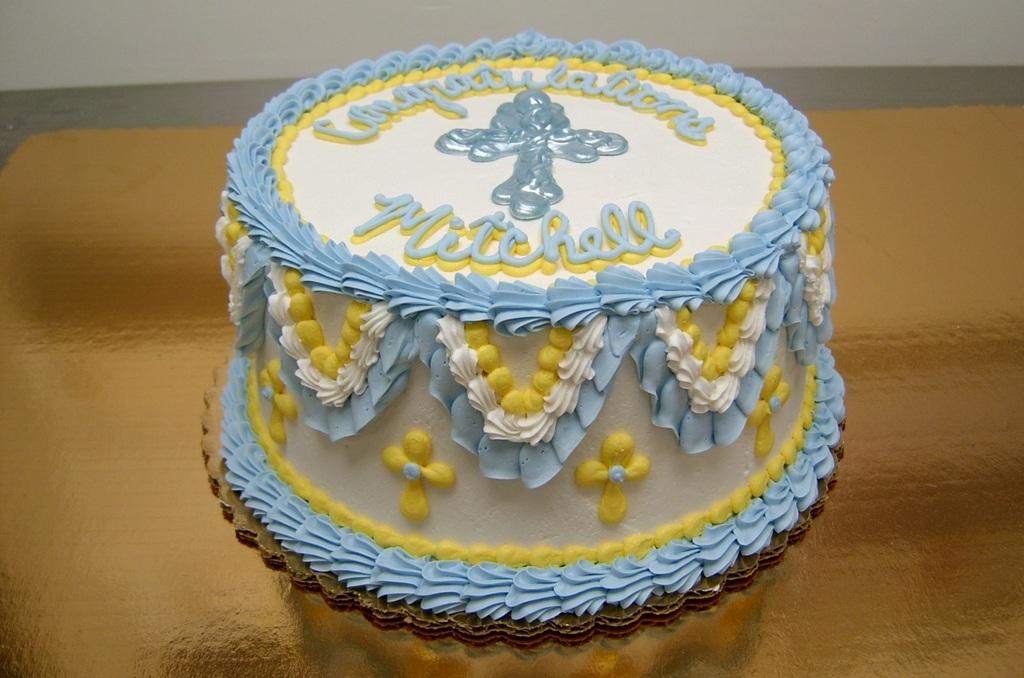 Religious Candy Melt Cross Cake