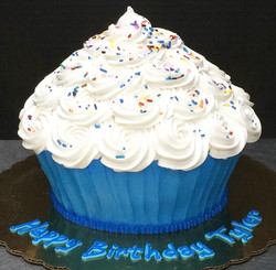 Adult Giant Cupcake Cake