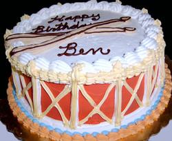 Adult Drum Cake