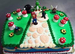 Boy Game Theme II Cake
