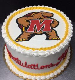Graduation Terrapin Cake