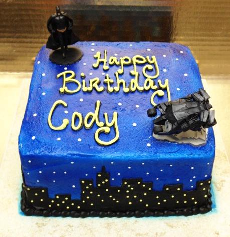 Boy Comic Theme Cake