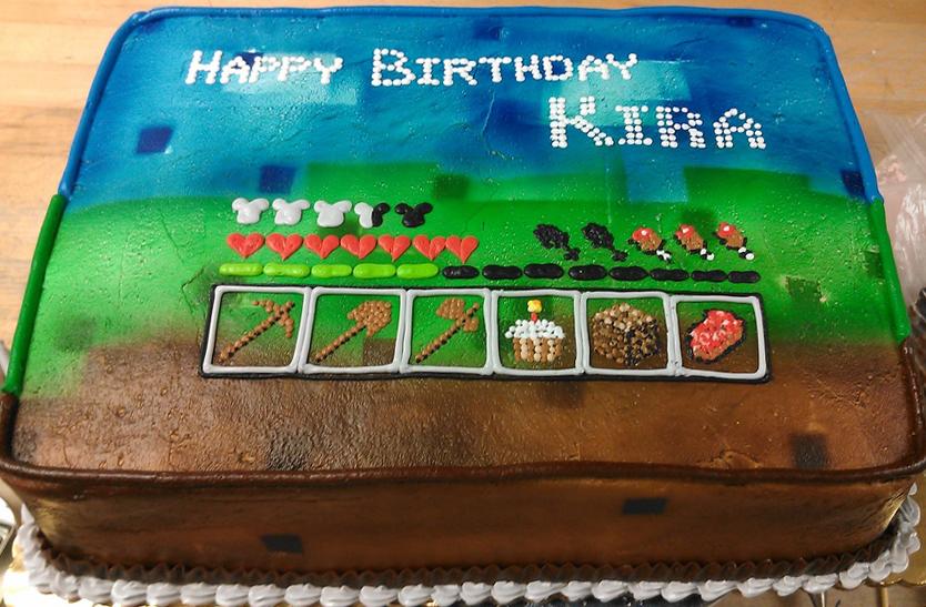 Girl Game Theme Cake