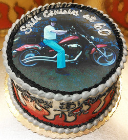 Adult Male Edible Image Cake