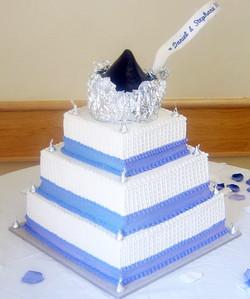 Chocolate Kiss Wedding Cake
