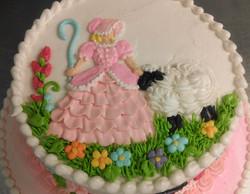 Baby Shower Bo Peep Cake