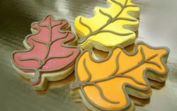 Leaf Royal Iced Cookie