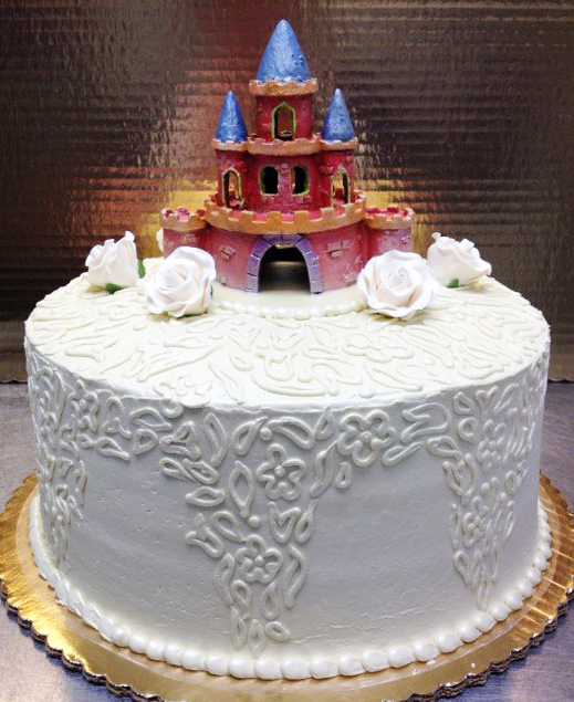 Castle/Filigree Wedding Cake