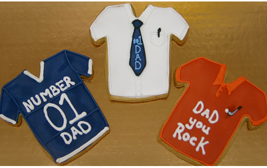 Father's Day Royal Iced Cookies