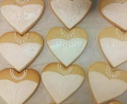 Wedding Dress Royal Iced Cookies