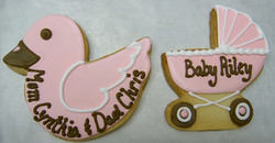 Baby Shower Royal Iced Cookies
