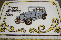Adult Car Theme Cake