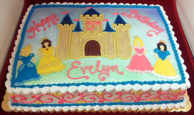 Girl Castle and Princess II Cake