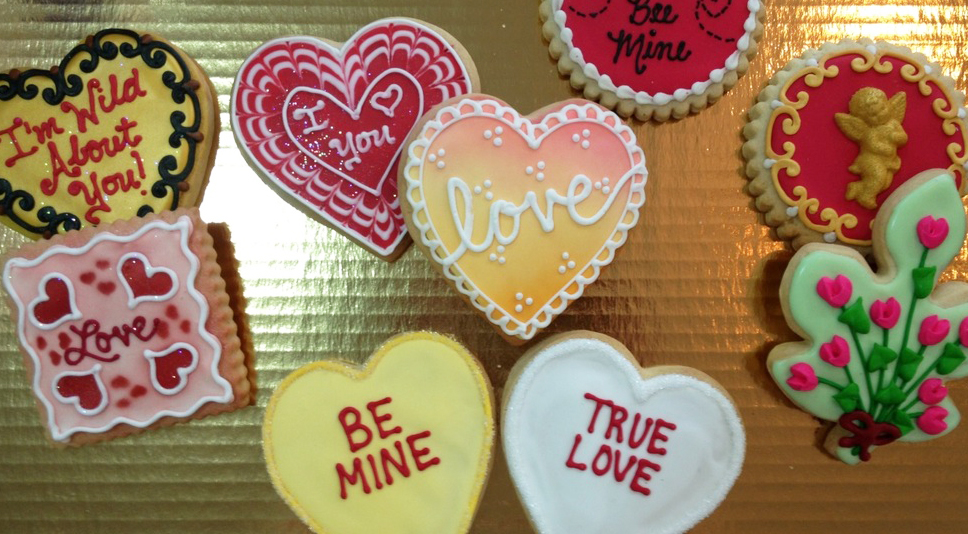 Valentine Royal Iced Cookies