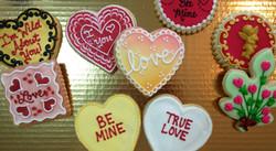 Valentine Royal Iced Cookies