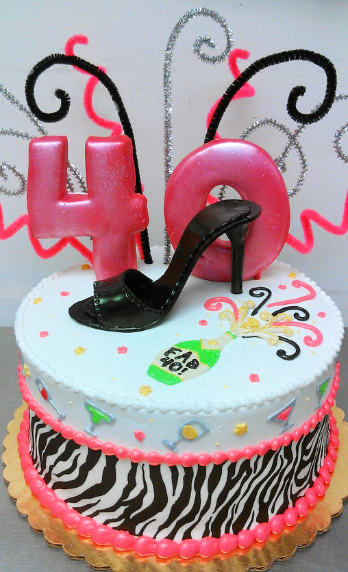 Adult Gumpaste High Heel Cake