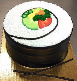 Adult Sushi Roll Cake
