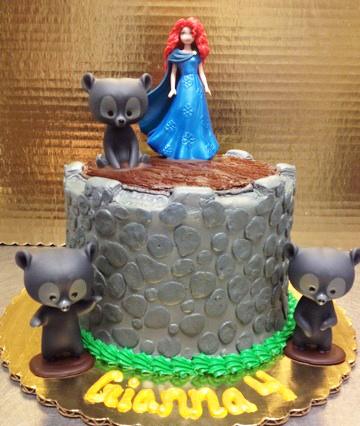 Girl Movie Theme Cake