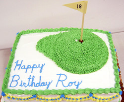 Adult Golf Green Cake