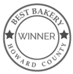 Best Bakery in Columbia, Maryland and Howard County, Maryland