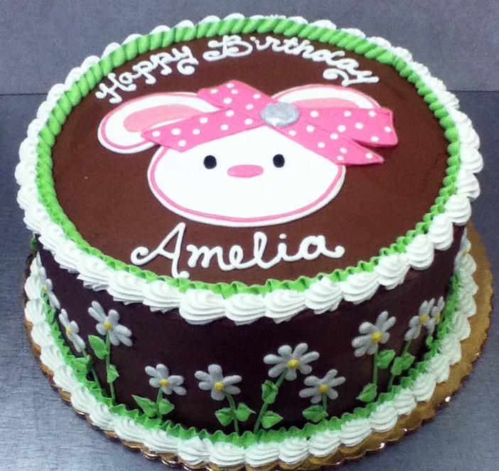 Girl Amelia Cake