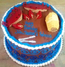 Adult Crab Boil Cake