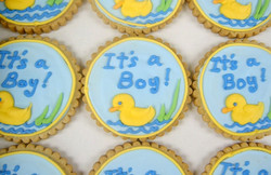Baby Shower Royal Iced Cookie
