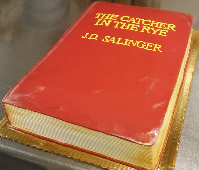 Adult Sculpted Book Cake