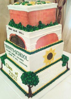 Religious Tiered Reunion Cake