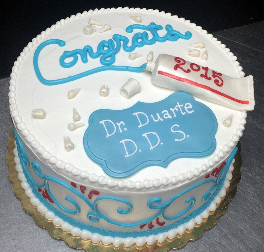 Adult Dentist Theme Cake