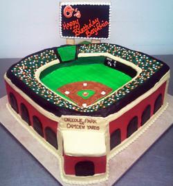 Sports Sculpted Baseball Stadium