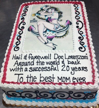 Custom Photo IV Cake