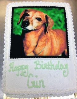 Custom Photo III Cake