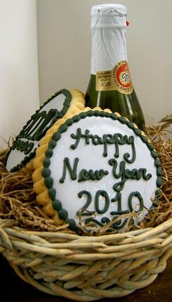 Happy New Year basket